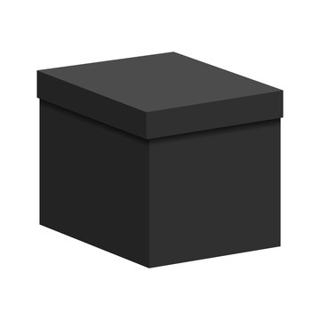 Black box with a lid