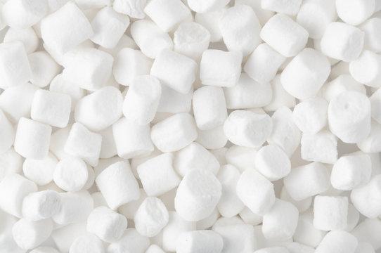 White marshmallow background