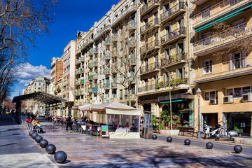 Barcelona, Avinguda de Gaudi