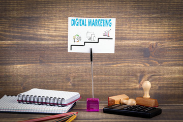 Digital Marketing step by step. media planning, online business and purchasing, financial analysis and statistics