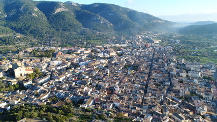 Panorámica de Andratx, Mallorca