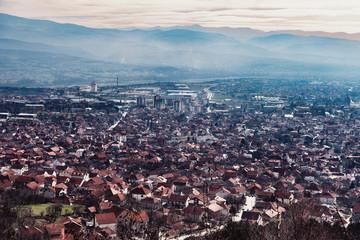 Aussicht auf Vranje