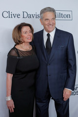 """Minority Leader of the U.S. House of Representatives Nancy Pelosi and her husband Paul attend the 2018 Pre-GRAMMY Gala & GRAMMY Salute to Industry Icons presented by Clive Davis and The Recording Academy honoring Shawn """"JAY-Z"""" Carter in Manhattan, New York"""