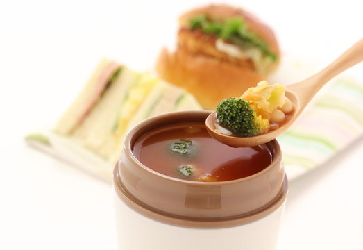 スープジャー ランチ