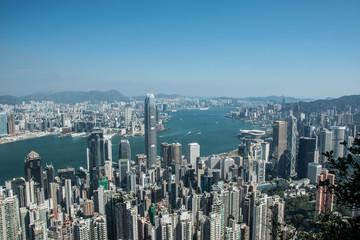Hongkong, View from the Peak