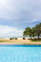 Ahungalla, Sri Lanka - A perfect surrounding for a day at the pool