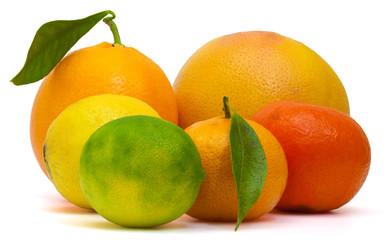 agrume, pamplemousse, citron jaune, citron vert, mandarine, clémentine, orange