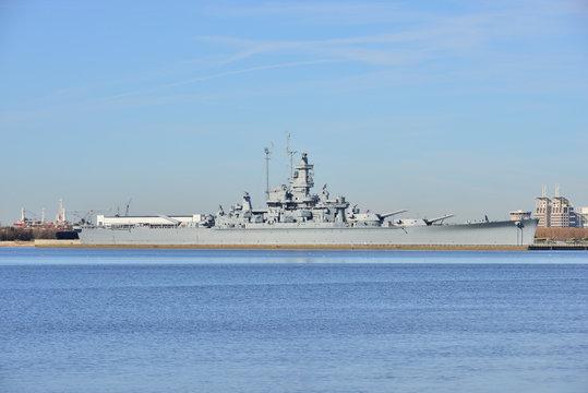 A Dakota class battleship in America