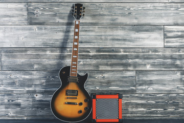 Guitar in studio