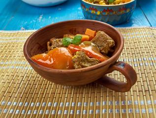 Azerbaijani dish Tava