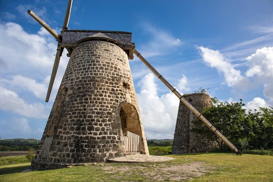 Betty's Hope is no longer operational as a plantation on Antigua in the Caribbean