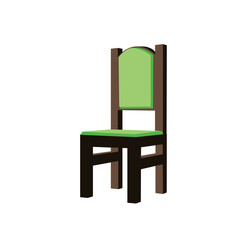 Perspective 3D look of chair sofa seat furniture vector assets