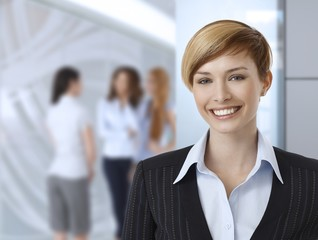 Businesswomen at office
