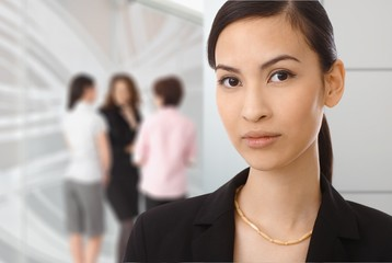 Portrait of asian businesswoman at office