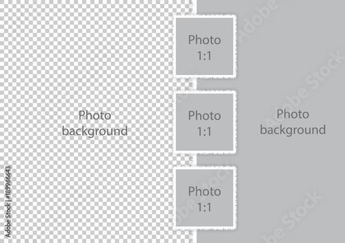 modern photo frames collage template soft white borders fotolia com