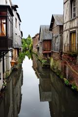 Denkmalgeschützte Fachwerkhäuser in Pont-Audemer