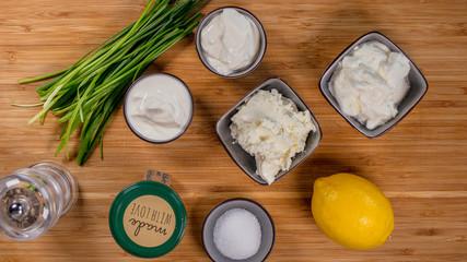 Zutaten Sour Cream