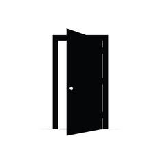 door open icon vector