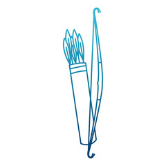 Bow and arrows icon vector illustration graphic design