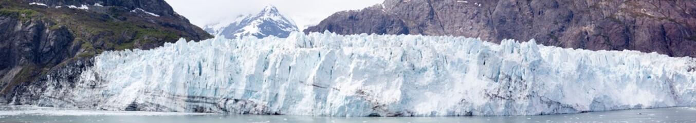 Printed kitchen splashbacks Glaciers Alaska's Glacier Panorama