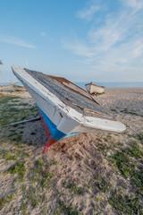 boat in the beach