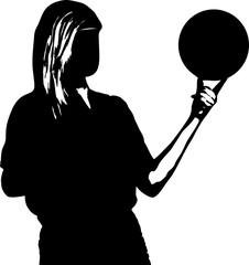 Mädchen mit Ball