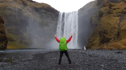 Islande paysage la nature à l' etat pur