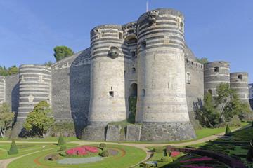 France, Pays de la Loire, Maine-et-Loire (49), Angers, le Chateau construit par Saint Louis