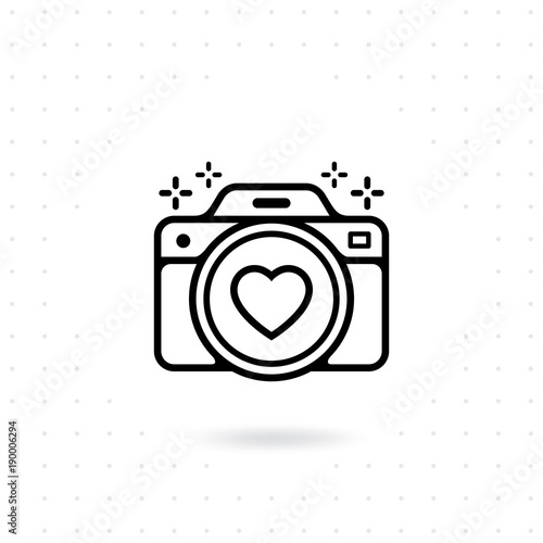 """Camera icon. Vector for web and mobile applications ..."