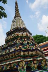 Buntes Pagodendach in Bangkok