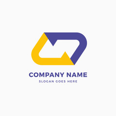 Network N Letter Logo Design