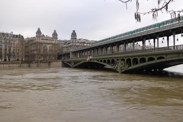 Paris - Crue de la Seine