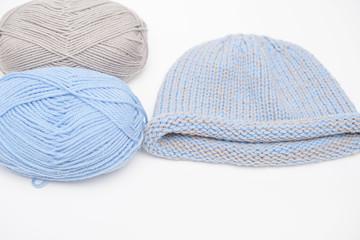 knitting needles. knitting concept.