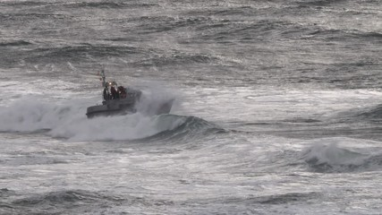 0:10 Coast Guard Activity, Cape Disappointment, 47 foot Motor Lifeboat