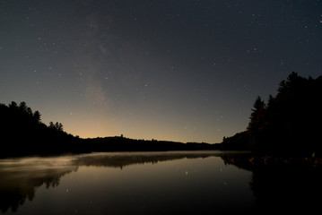 Astrophotography in Algonquin Highlands