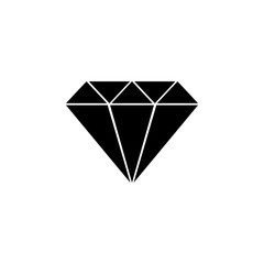 diamond icon. Element of love for mobile concept and web apps. Thin line  icon for website design and development, app development. Premium icon