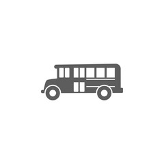 school bus icon. Element of education icon. Premium quality graphic design icon. Signs, outline symbols collection icon for websites, web design, mobile app