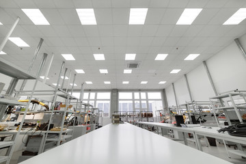 Manufacture of industrial electronics. Shop assembly of electronic components.