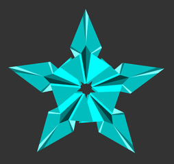 star, simple abstract image