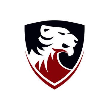 tigers logo design vector