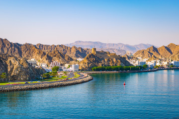 Wall Mural - Waterfront of Muscat, Oman