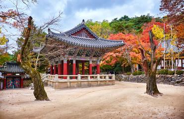 Bulguksa temple in autumn, Gyeongju, Korea