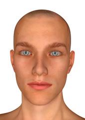 Boy's Face - 3D