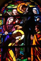 Eglise du Graal Tréhorenteuc en Broceliande