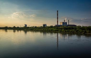 Power plant Zeran in Warsaw, Poland