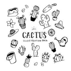 Cactus Illustration Pack