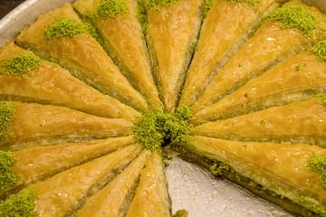 Garden Poster Kitchen Türk Tatlılarından Baklava
