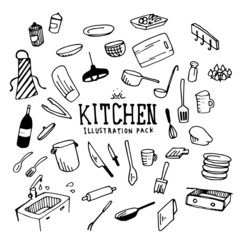 Kitchen Illustration Pack
