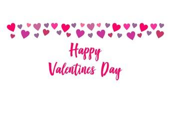 Happy Valentine's Day Celebration with Love Logo