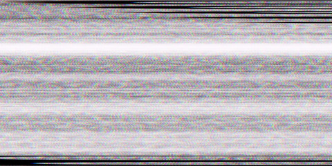 Distortion Television Glitch Background. Screen Noise Texture. No Signal Display. Bad Tv Lines.